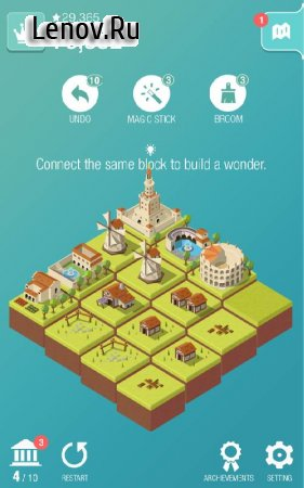 Age of 2048: Civilization City Building v 1.6.11 Мод (Every IAP is free)