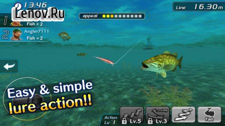 Bass Fishing 3D II v 1.1.27 (Mod Money)