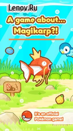 Pokémon: Magikarp Jump v 1.3.7 Мод (Training, Food, Decorations & More)