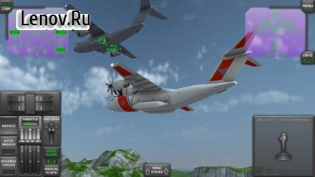 Turboprop Flight Simulator 3D v 1.25.2 Мод (много денег)