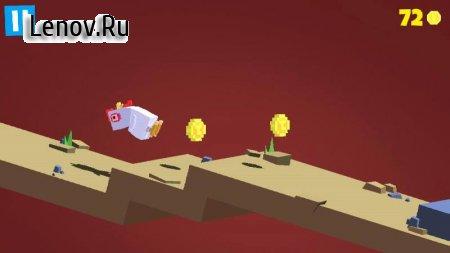 Flippy Hills (обновлено v 1.1.71) (Mod Money)