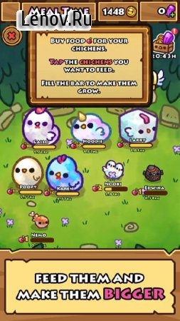 Chichens v 1.15.3 Мод (Unlimited Coins/Gems)