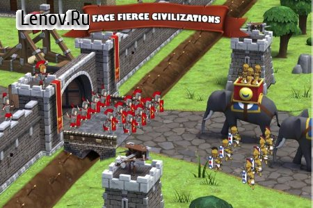 Grow Empire: Rome v 1.3.81 (Mod Money)