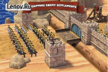Grow Empire: Rome v 1.4.44 Мод (много денег)