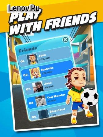 Soccer Rush: Running Game v 1.2 Мод (Infinite Mango/Life)