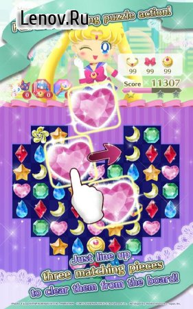 Sailor Moon Drops v 1.29.0 Мод (50 steps)