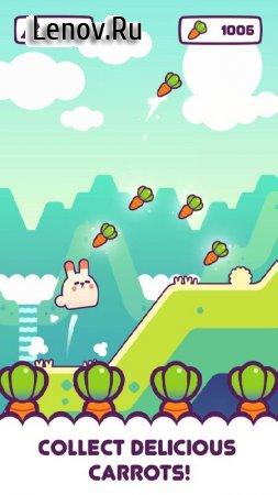 Fat Bunny: Endless Hopper v 3.4 Мод (Free Shopping)