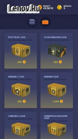 CSGO Clicker | Weapons And Cases 2 v 2017.1.5 Мод (много денег)