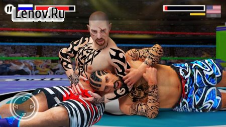 Wrestling Fight Revolution 17 (обновлено v 2.9) Мод (много денег)