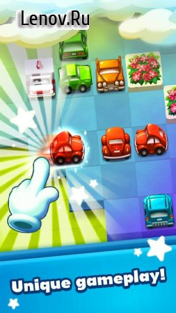 Beep Beep Vroom: Match 3 v 1.10.49 Мод (Unlimited Lives/Boosters/99 Moves & More)