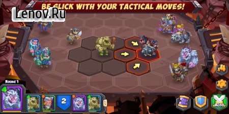 Tactical Monsters (Тактические Монстры) v 1.16.7 Мод (High attack/blood volume/defense/dodge)