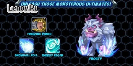 Tactical Monsters (Тактические Монстры) v 1.15.4 Мод (High attack/blood volume/defense/dodge)