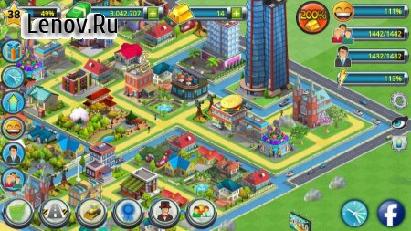 Town Building Games: Tropic City Construction Game v 1.2.10 (Mod Money)