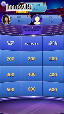 Jeopardy! World Tour (обновлено v 1.2) Мод (Unlimited Gold/Cash)