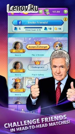 Jeopardy! World Tour v 42.0.1 Мод (Unlimited Gold/Cash)