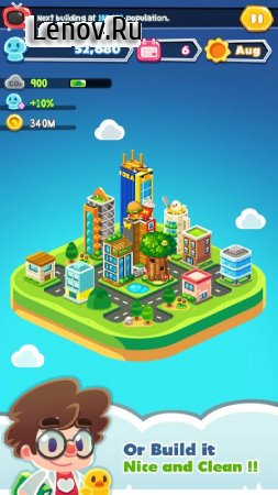 Game Of Earth v 1.3.6 Мод (Unlimited Treasury/Unlimited Population/No Carbon Eruption Or Emission)