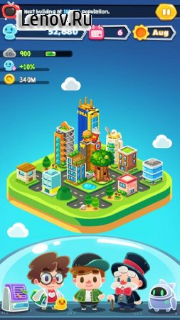 Game Of Earth (обновлено v 1.2.1) Мод (Unlimited Treasury/Unlimited Population/No Carbon Eruption Or Emission)