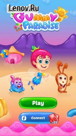 Gummy Paradise v 1.3.0 Мод (Unlimited Lives/Moves)
