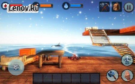 Winter Survival On Raft 3D v 1.0 (Modify invincible)