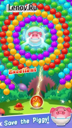 Rabbit Pop - Bubble Mania v 2.0.10 Мод (Free Booster/Extra Moves)