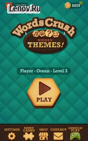 Words Crush: Hidden Themes! v 1.4.5 (Mod Money)