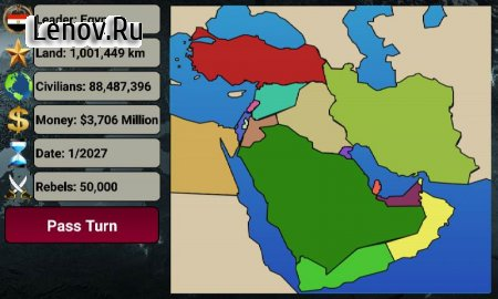 Middle East Empire 2027 v 2.7.3 (Mod Money)