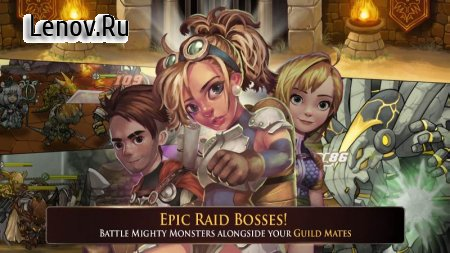 Raiders Quest (обновлено v 1.7.4) Мод (Unlimited Skills/Ultra Skill Damage)