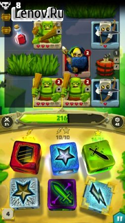 Dice Hunter: Quest of the Dicemancer v 3.3.0 Мод (Unlimited Health/Free Dices & More)