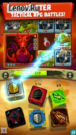 Dice Hunter: Quest of the Dicemancer v 4.2.2 Мод (Unlimited Health/Free Dices & More)
