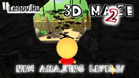 3D Maze 2: Diamonds & Ghosts v 3.1 (Mod Gems)