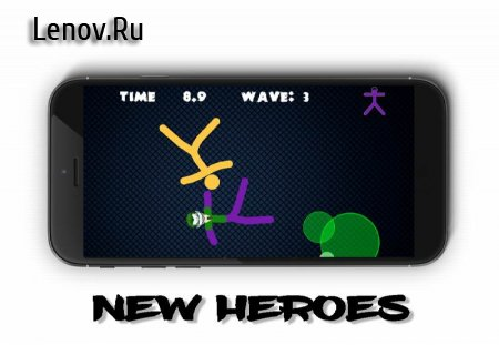 Stickman Warriors 4 Online v 1.0