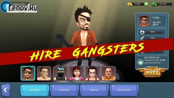 gangster squad fighting game mod apk