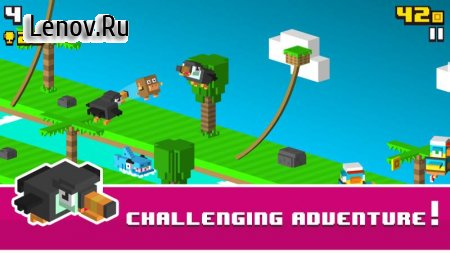 Monkey Rope - Endless Jumper v 1.0.3 Мод (Unlocked/ads-free)
