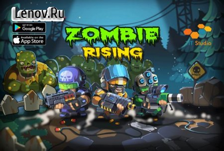 Zombie Rising: Dead Frontier v 2 Мод (Earned Stars x5/Gems x5 & More)