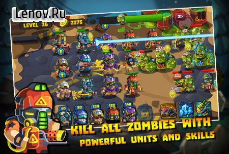 Zombie Rising: Dead Frontier (обновлено v 1.0.5) Мод (Earned Stars x5/Gems x5 & More)