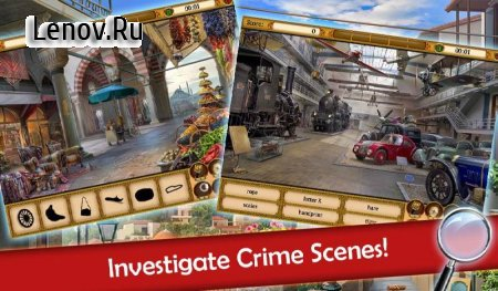 Hidden Objects: Mystery Society HD Free Crime Game v 4.15 Мод (Unlimited Gems/Coins/Energy)