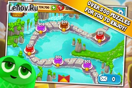 Pudding Pop – Connect & Splash v 1.8.6 Мод (Infinite Lives/High Coin Rewards after each Round)