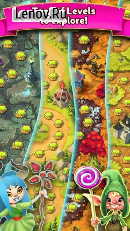 Cupcake Kingdom v 1.4.0.11377.20 Мод (Unlimited Lives/Gold/Silver)