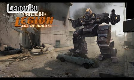 Mech Legion: Age of Robots v 2.71 (Mod Money/Unlocked)