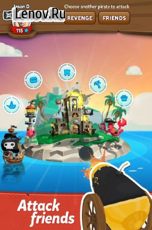 Pirate Kings v 6.5.0 Мод (Unlimited Spins)