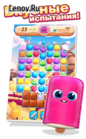 Cookie Jam Blast v 6.30.114 Мод (Unlimited Coins/Lives)