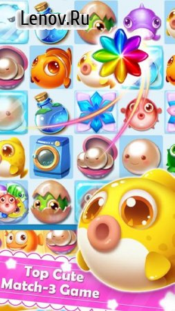 Charm Fish - Ocean Mania v 1.8.9 Мод (Infinite Lives/Coins/Diamonds)