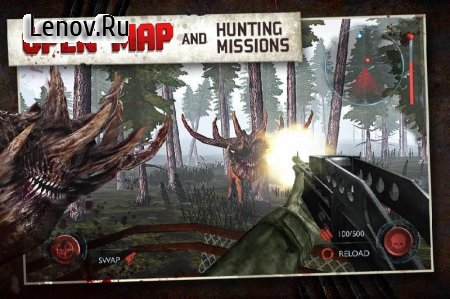 Dead Forest Zombie Deer Hunter v 0.5.1 (Mod Money)