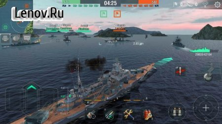 World of Warships Blitz v 3.2.0 Мод (много денег)
