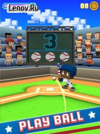 Blocky Baseball v 1.5_215 Мод (All Bats/Balls Unlocked)