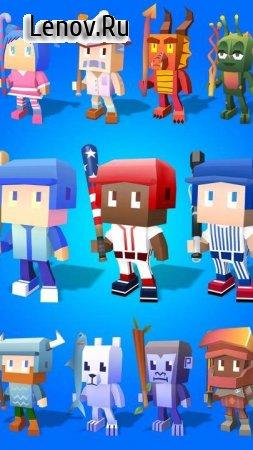Blocky Baseball v 1.1.1_110 Мод (All Bats/Balls Unlocked)