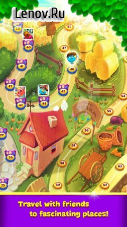 Farm Charm - Match 3 Blast King Games v 2.1.3 Мод (Unlimited Daimonds)