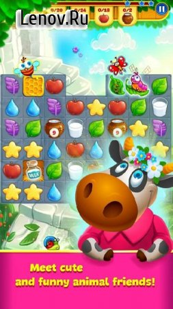 Farm Charm - Match 3 Blast King Games (обновлено v 1.7.2) Мод (Unlimited Daimonds)