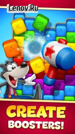 Toon Blast v 4437 Мод (Unlimited Lives/Coins/Boosters)