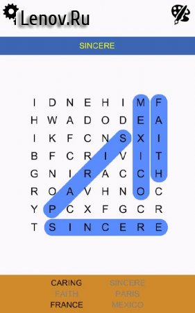 Word Search Epic (обновлено v 1.1.3) Мод (All Unlocked)